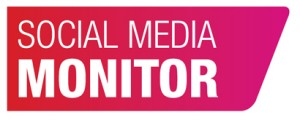 social media monitor logo